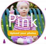 Snapfish Upload Your Pink Photo