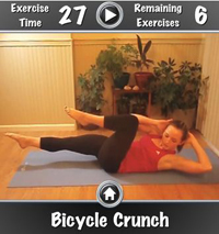 Free iTunes App Daily Ab Workout Free Screenshot