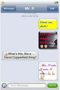Color Text Screenshot