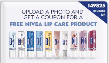 Expired* Free Full-Size Nivea Lip Care Product