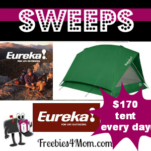 Sweeps Eureka! Timberline 40th Anniversary Giveaway