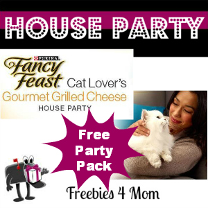 Free House Party: Fancy Feast Cat Lover's Gourmet Grilled Cheese
