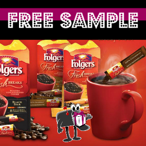 Free Sample Folgers Fresh Breaks