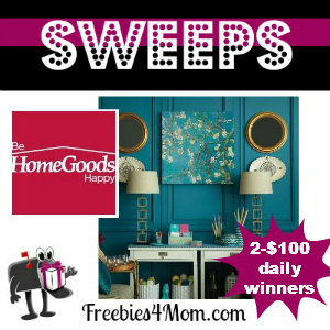 Home Goods Sweeps Post