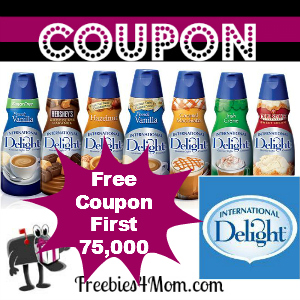 Free International Delight Coupon *First 75,000*