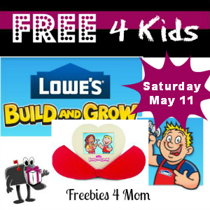 Free Sweetheart Frame at Lowe's May 11