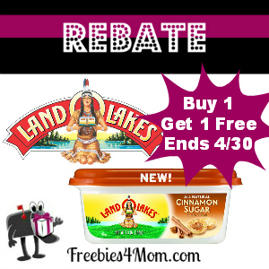 Rebate Land O Lakes Buy 1 Get 1 Free