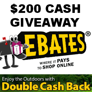 $200 Cash Giveaway from Ebates