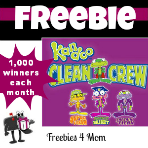 Free Pampers Kandoo Clean Crew Kit *1,000 Each Month*