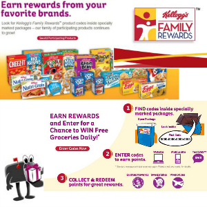 Join Kellogg's Family Rewards