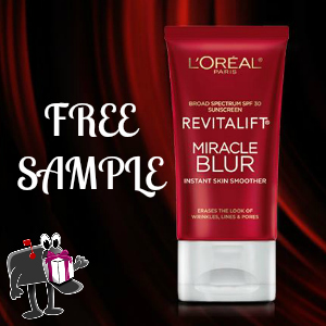 Freebie L'Oreal Miracle Blur