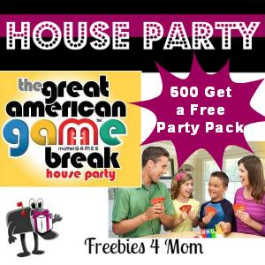 Free House Party: Mattel Great American Game Break