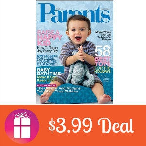 Deal $3.99 for Parents Magazine