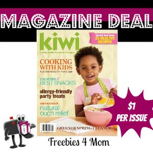 Deal $5.99 for Kiwi Magazine