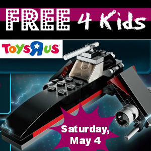 Free Lego Star Wars Mini Build at Toys R Us May 4