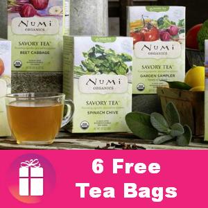 Freebie Numi Tea
