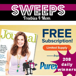 Sweeps Purex Ladies' Home Journal (208 Daily Winners)