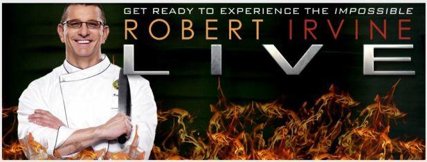 Win Tickets to Robert Irvine LIVE
