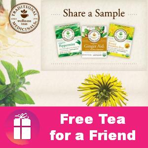 Freebie Traditional Medicinals Tea