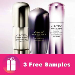 Freebie Shiseido Sample