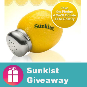 My Sunkist Coupon Winners Are...