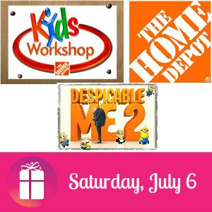 Free Kids Workshop at The Home Depot July 6