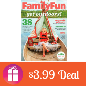 Deal $3.99 for Family Fun Magazine
