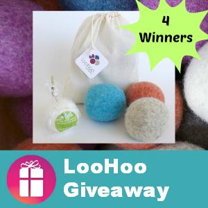 LooHoo Wool Dryer Ball Giveaway