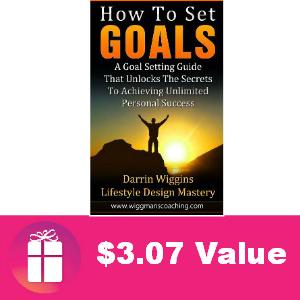 Free eBook: How to Set Goals ($3.07 Value)