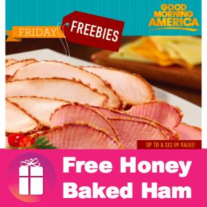 Freebie Honey Baked Ham