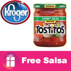 Freebie Tostitos Salsa at Kroger