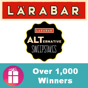 Sweeps LÄRABAR (Over 1,000 Winners)