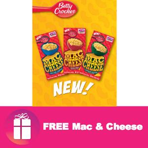 Freebie Betty Crocker Mac & Cheese