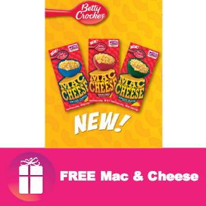 Freebie Betty Crocker Mac & Cheese