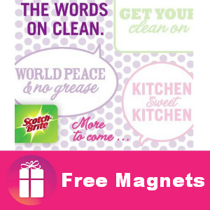 Freebie Scotch-Brite Magnets