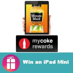 Sweeps My Coke Rewards Win an iPad Mini