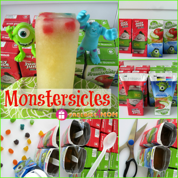How To Make Monstersicles