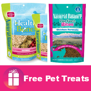 Freebie Natural Balance Pet Treats