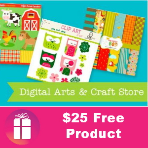 Free $25 Worth of Products from Print Candee