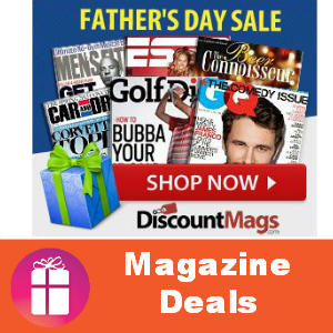 Deal Father's Day Magazine Sale