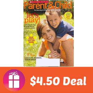 Deal $4.50 for Scholastic Parent & Child
