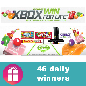 Sweeps Wm. Wrigley Jr. Xbox For Life