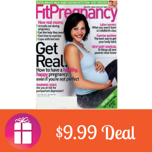 Deal $9.99 for Fit Pregnancy Magazine