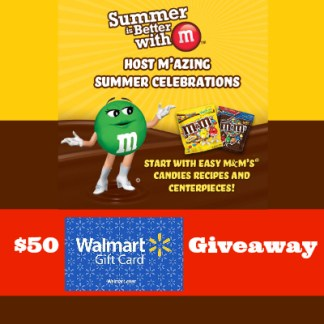 $50 Walmart Giveaway