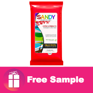 Freebie Sandy Wipes