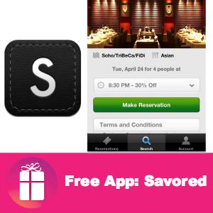 Free App: Savored