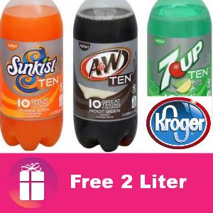 Free 2-Liter 7UP Ten at Kroger