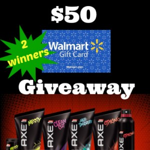 $50 Axe Hair Giveaway