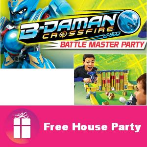 Free House Party: B-Daman Battle Master