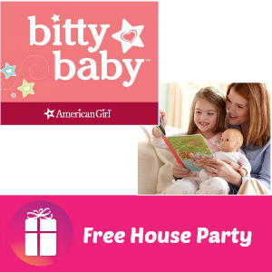 Free House Party: American Girl Bitty Baby
